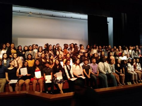 The National Honors Society- home of the most honorable students